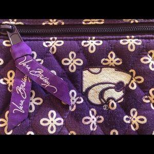 Vera Bradley Kansas State University wallet